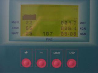Ergometertraining nach DLTX